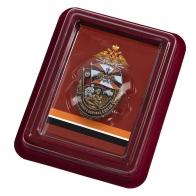 Памятный знак За службу в Войсках связи - в футляре