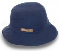 Панама Billabong. Лаконичный дизайн, плотный хлопок