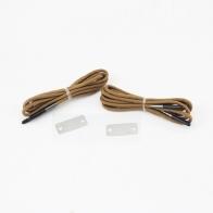 Паракордовые шнурки выживания с огнивом (койот)