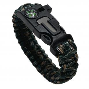 Паракордовый браслет тактического назначения