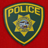 California Police Department Patch