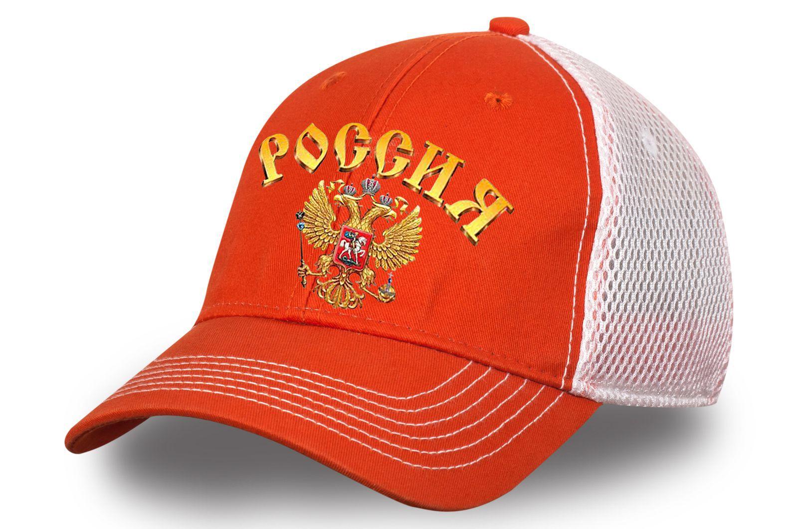 Патриотическая бейсболка Россия - купить недорого онлайн