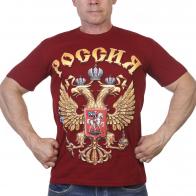 Футболка с гербом РФ