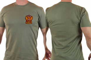Патриотическая футболка с символикой России с удобной доставкой