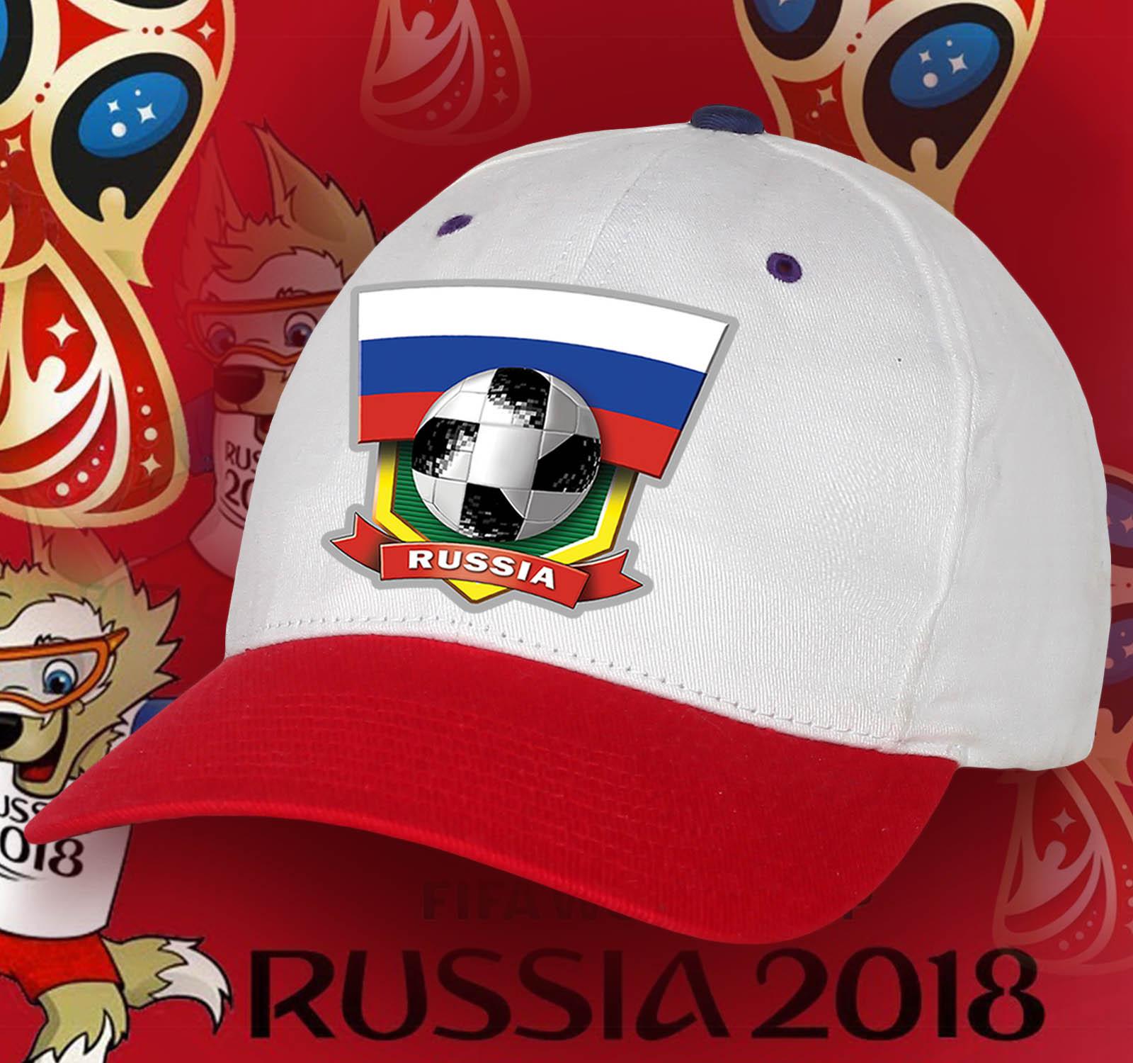 Патриотическая футбольная кепка сборной России