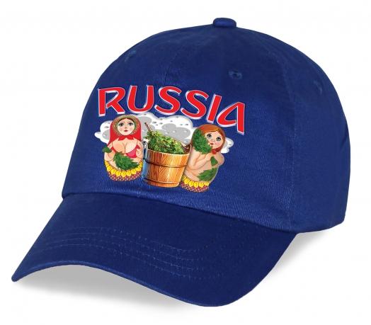"""Патриотическая кепка """"Матрешки"""". Стильный головной убор в авторском дизайне. Плотный хлопок, лучшая цена! Заказывай, пока не разобрали!"""