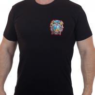 """Патриотичная футболка с термотрансфером """"Победа"""""""