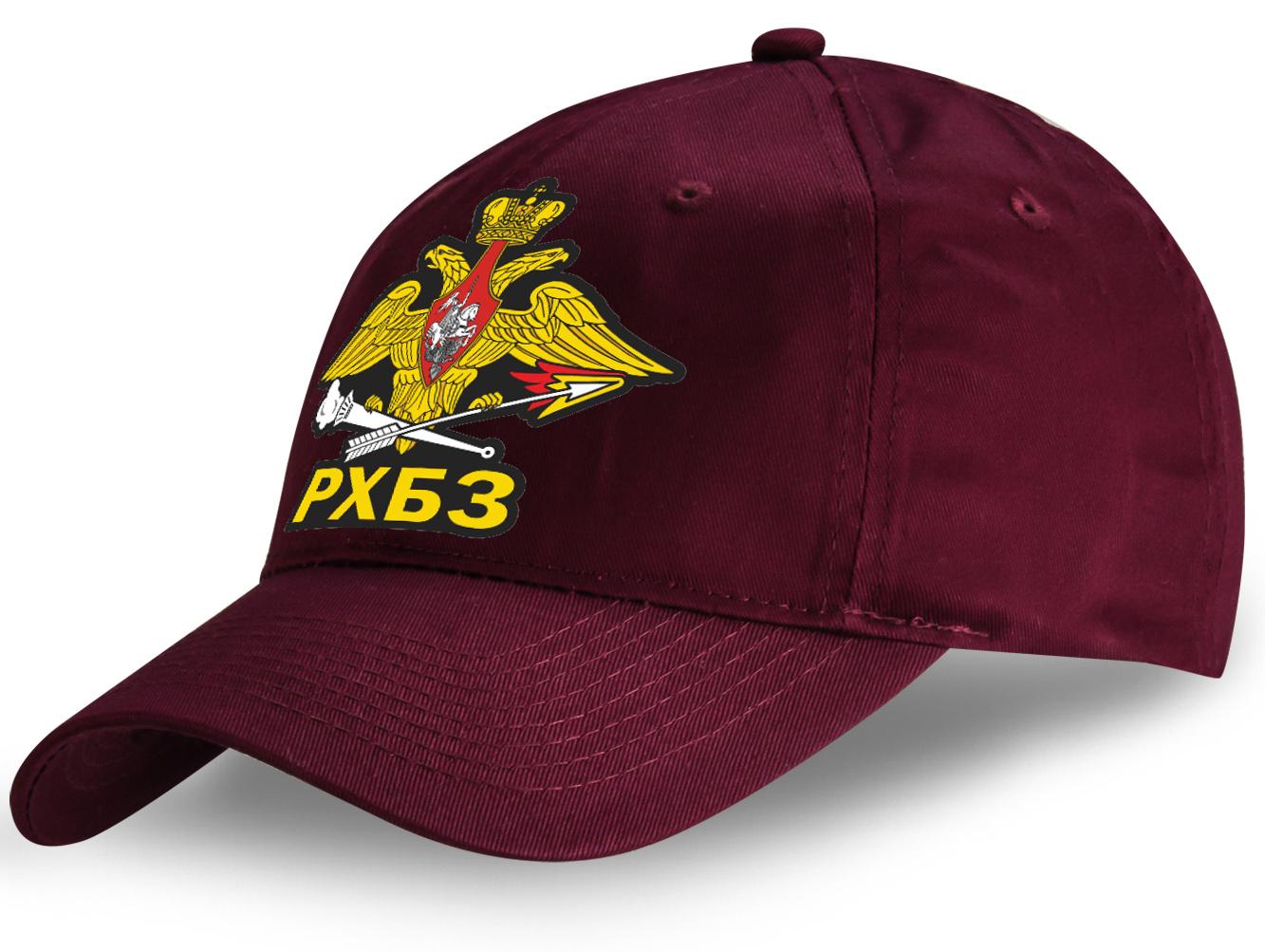 Патриотичная кепка с наклейкой РХБЗ