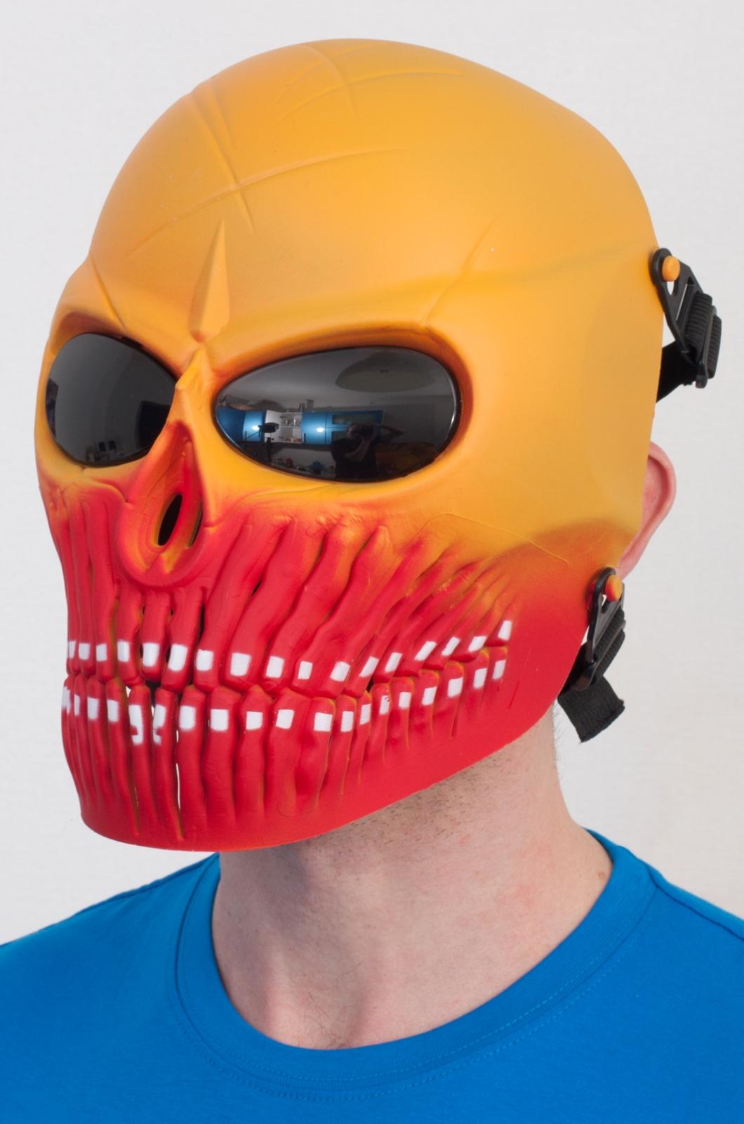 Ударопрочная пейнтбольная маска по приемлемой цене