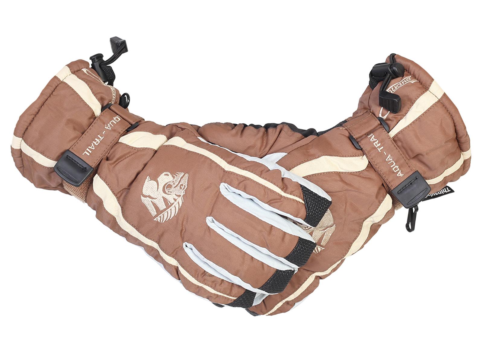 Классические горнолыжные перчатки Aqua-Trail