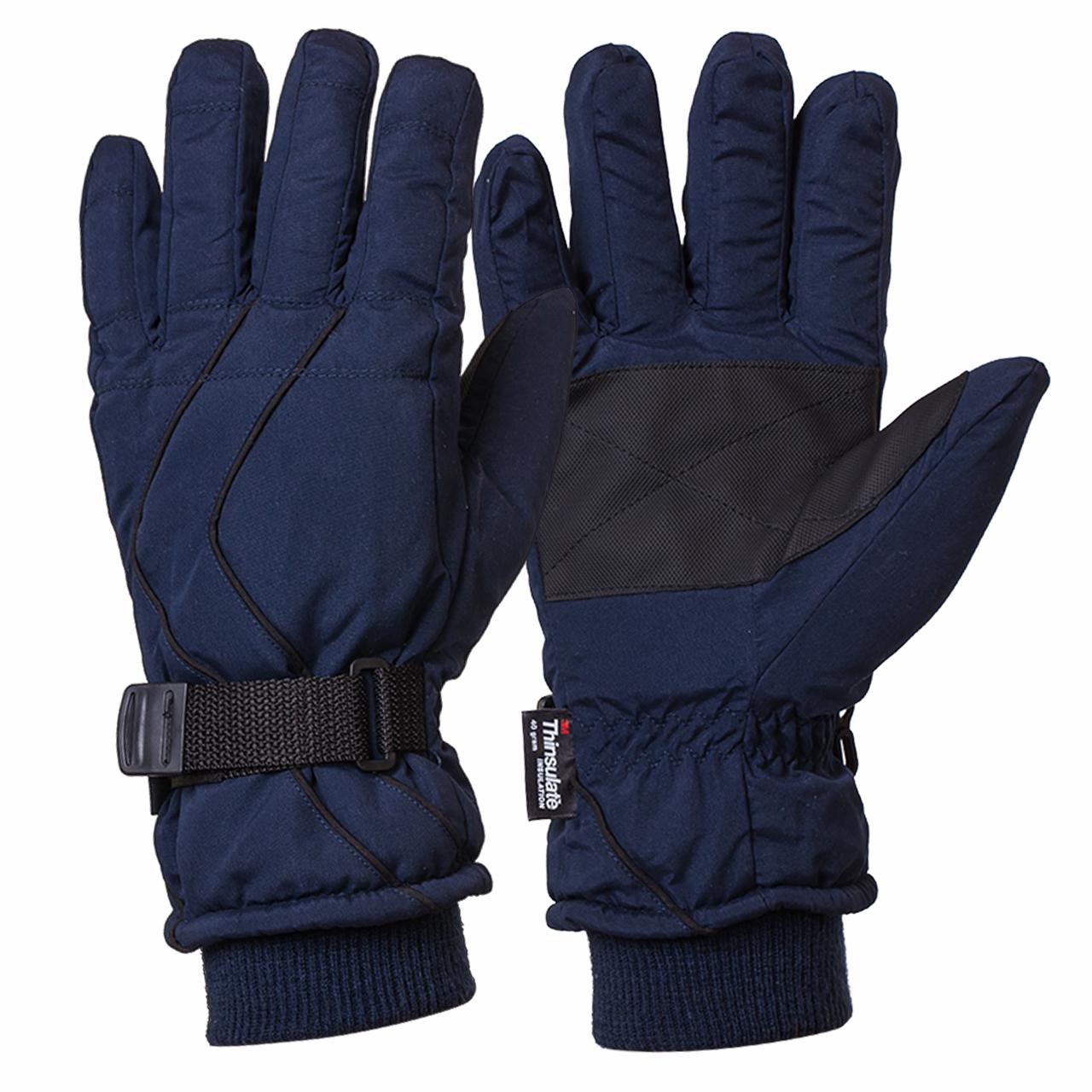 Спортивные зимние перчатки на тинсулейте