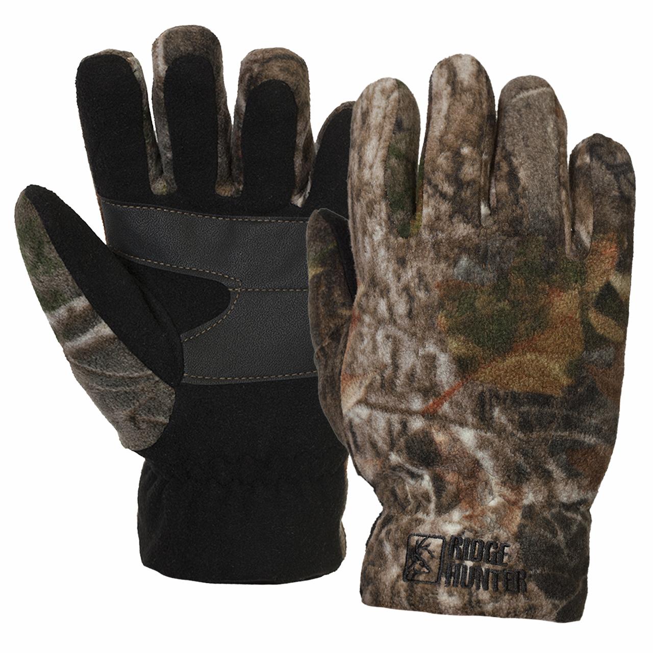 Фирменные перчатки камуфляж