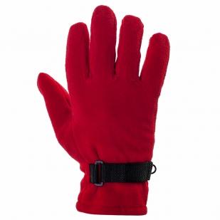 Перчатки красного цвета (флис + тинсулейт) заказать в Военпро