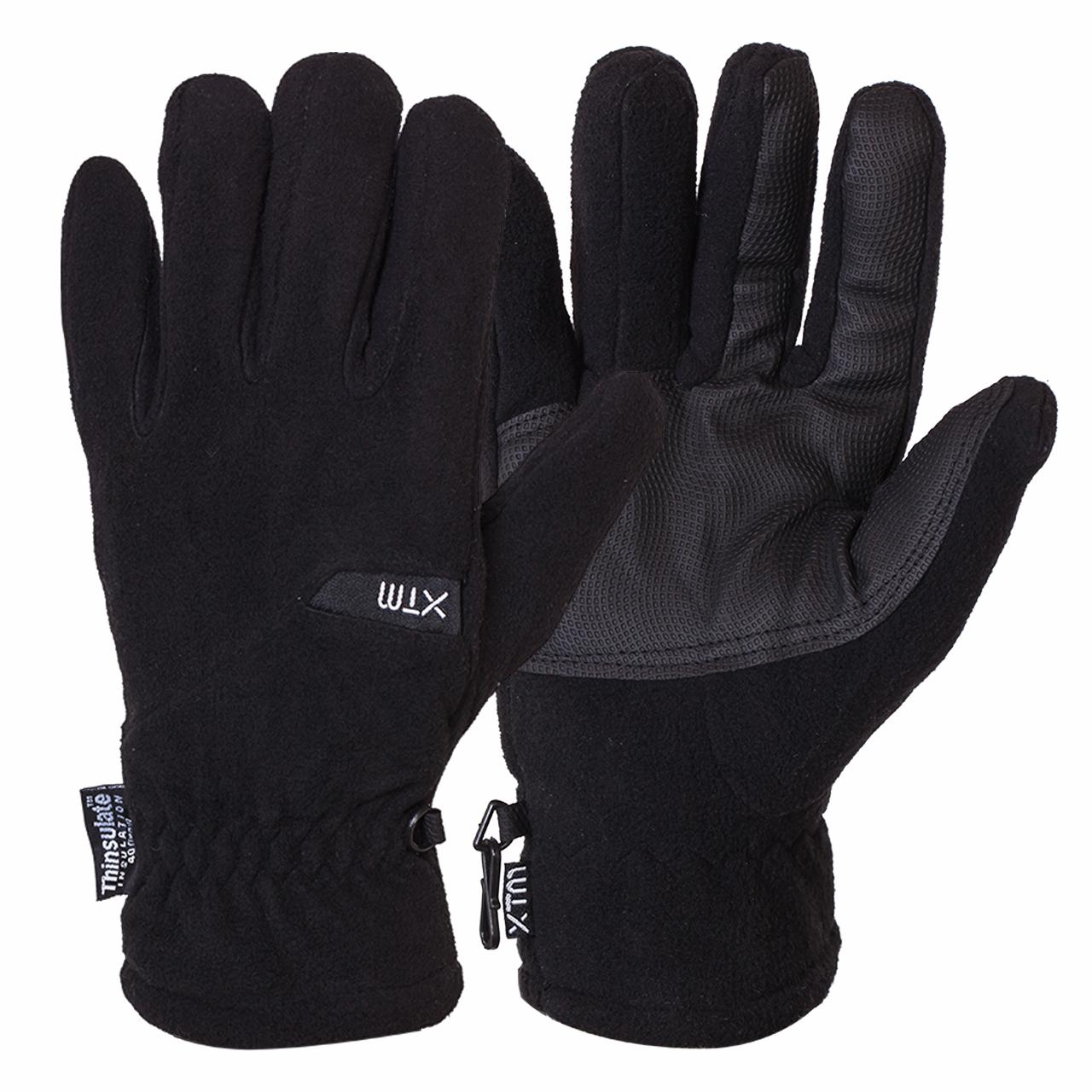 Купить недорогие перчатки на флисе с утеплителем