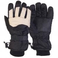 Лыжные перчатки с двойной манжетой
