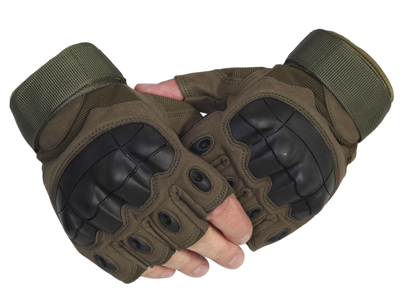 Перчатки с карбоновыми вставками
