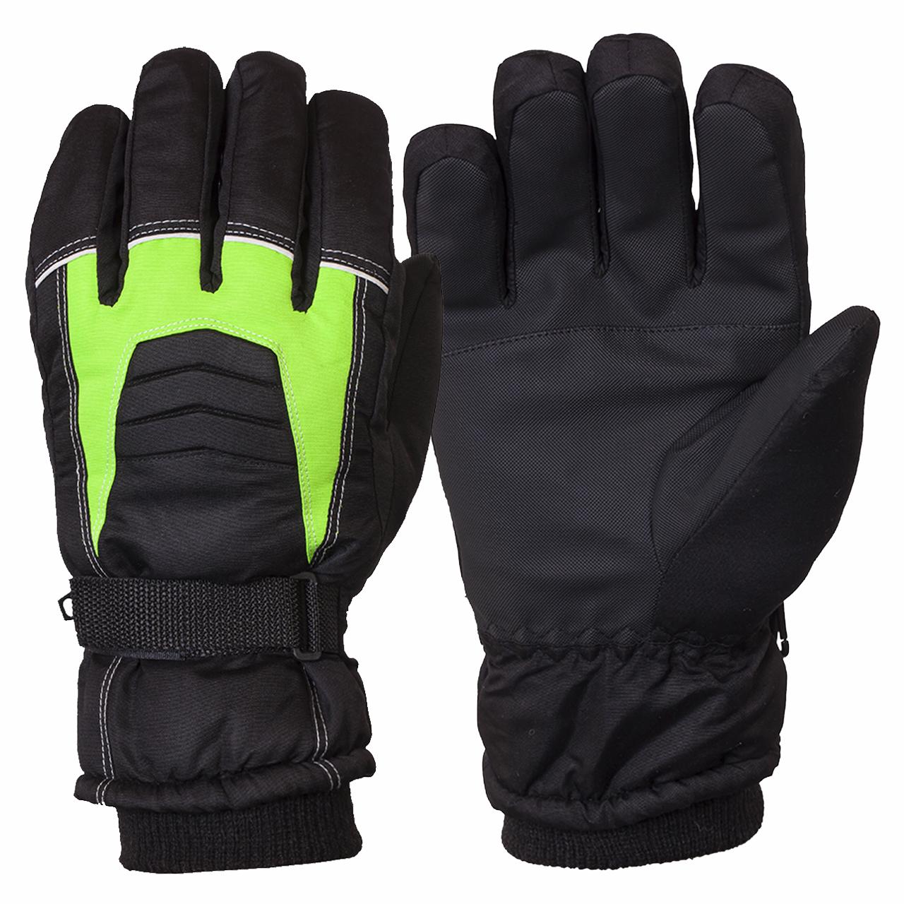 Оригинальные горнолыжные перчатки с водоотталкивающей пропиткой