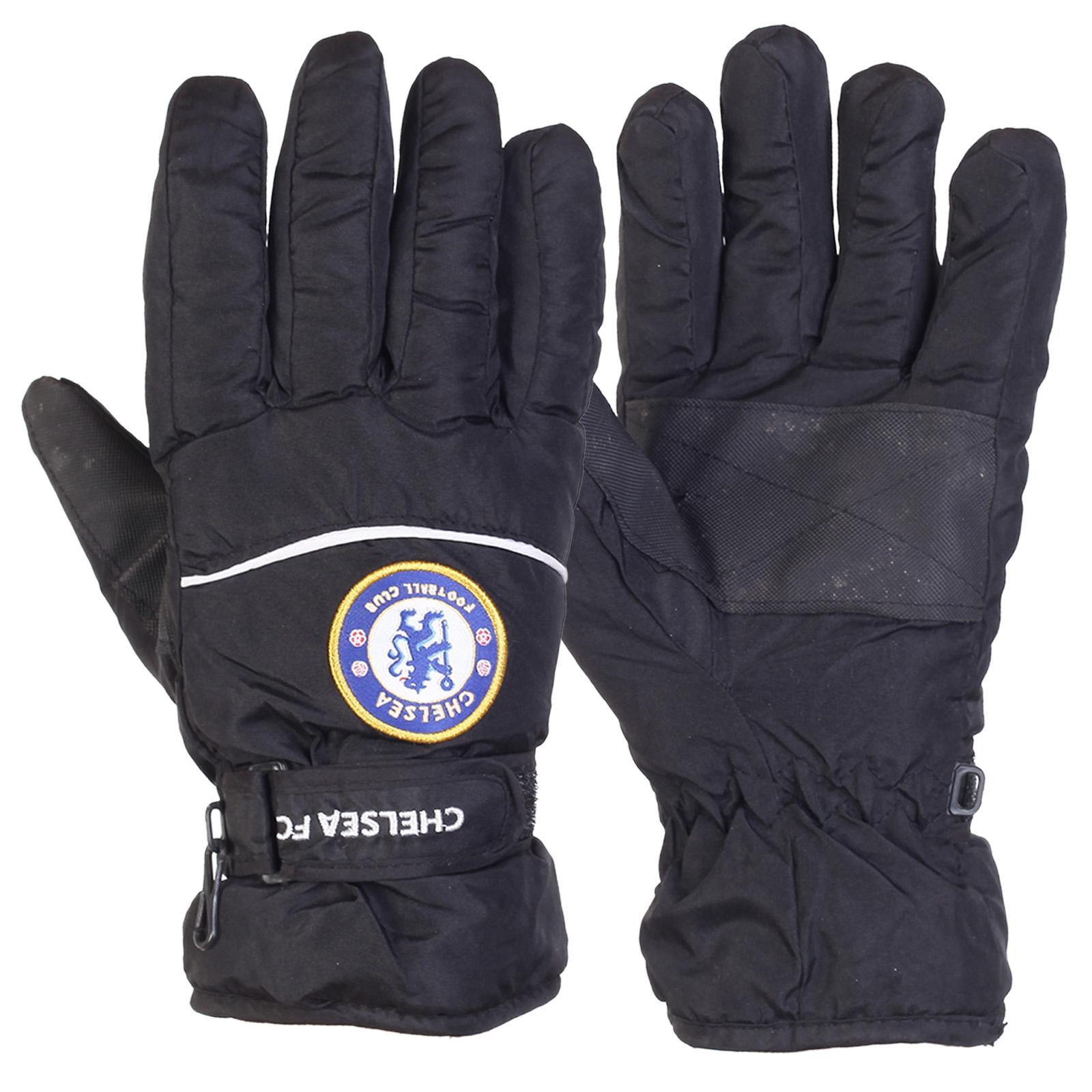 Мужские перчатки зима Chelsea FC