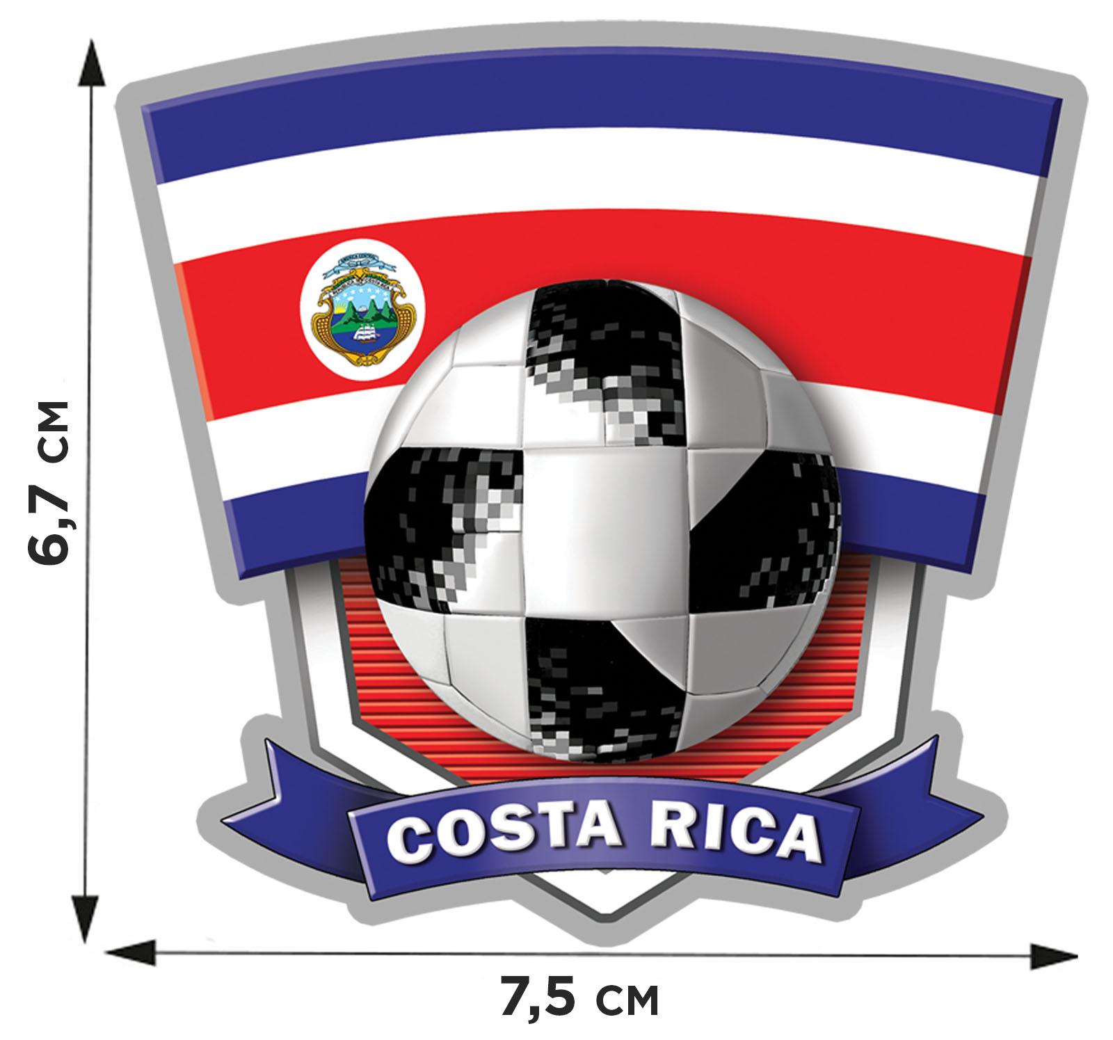 Купить переводную картинку COSTA RICA по лучшей цене