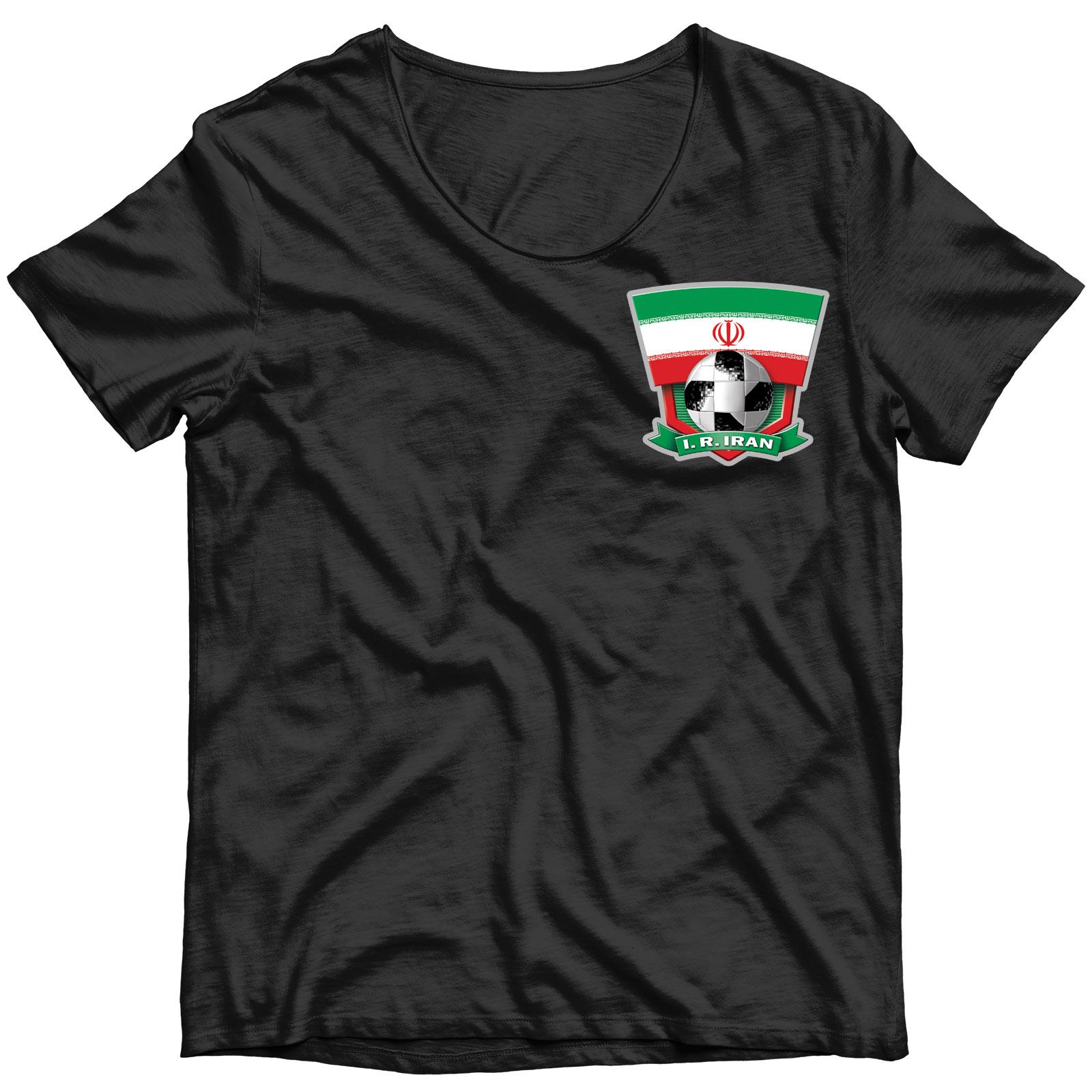 """Переводная картинка на футболку """"Иран"""""""