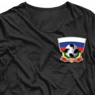 Переводная картинка на одежду Россия