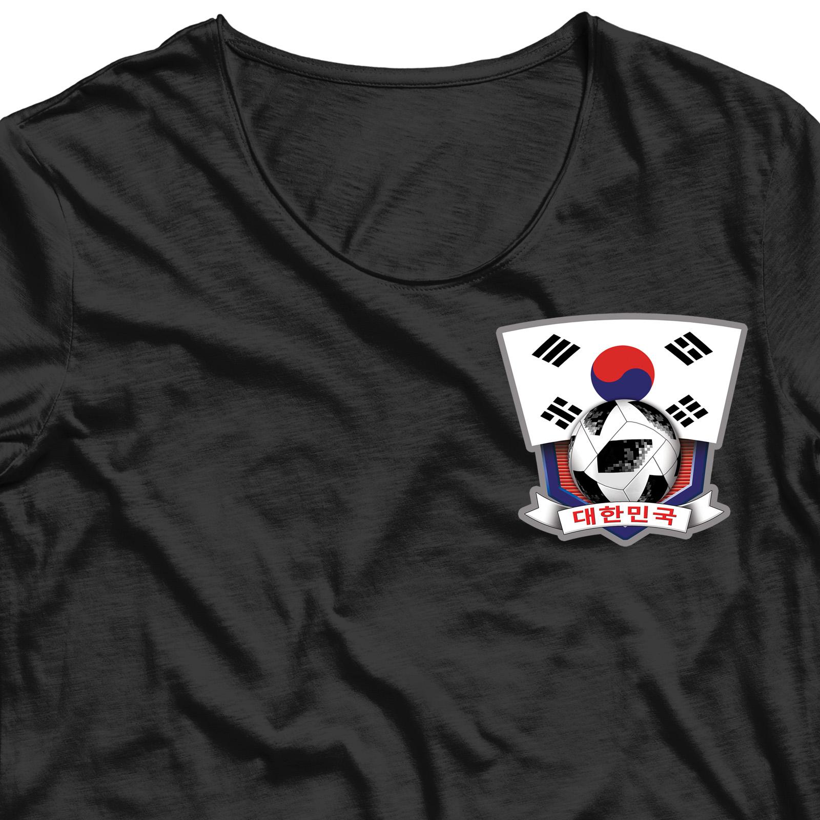 Переводная картинка на ткань Южная Корея