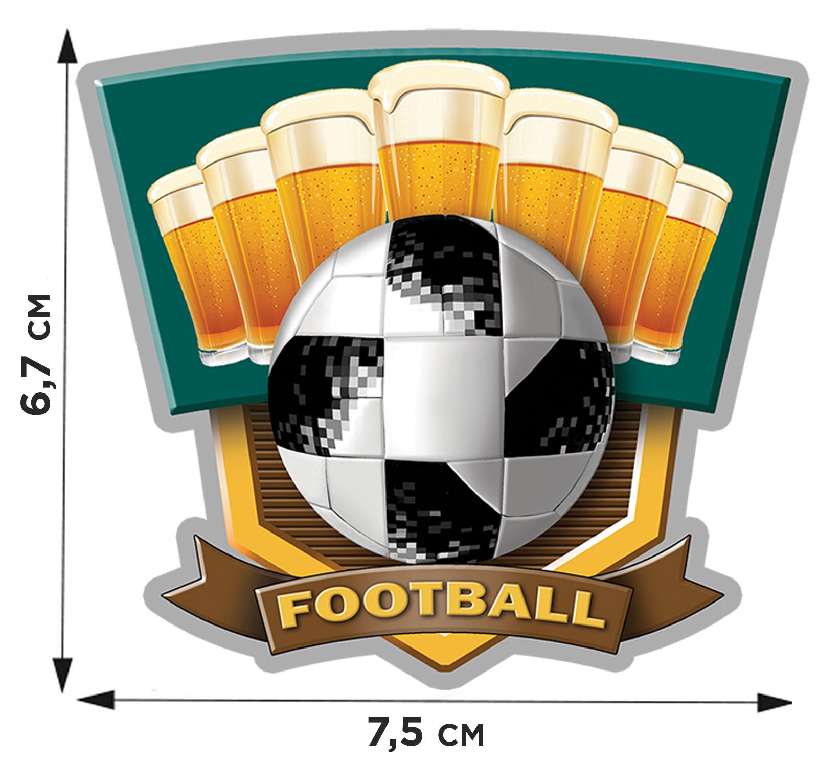 Купить переводную картинку FOOTBALL по низкой цене