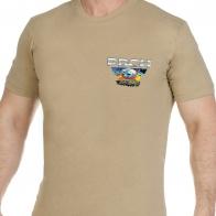 Песочная оригинальная футболка РВСН