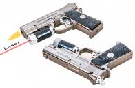 Пистолет-зажигалка с лазером