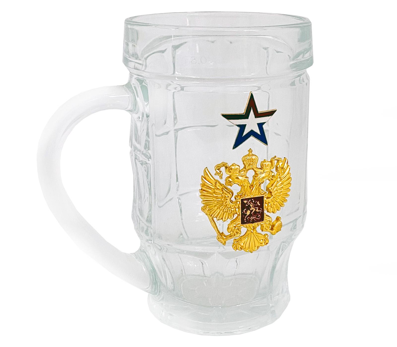 Пивные кружки с гербом РФ