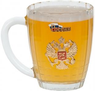 """Пивная кружка """"Россия"""" - купить с доставкой"""