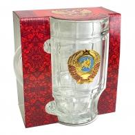 Пивная кружка с гербом СССР