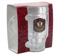 Пивная подарочная кружка За Сталина!