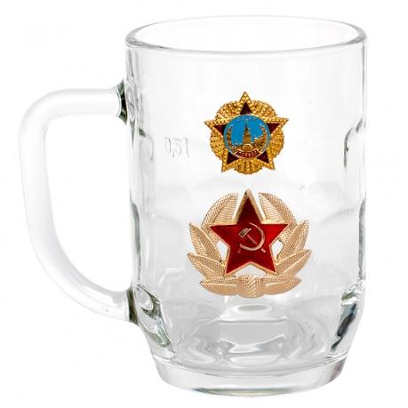 Пивной бокал ко Дню Победы