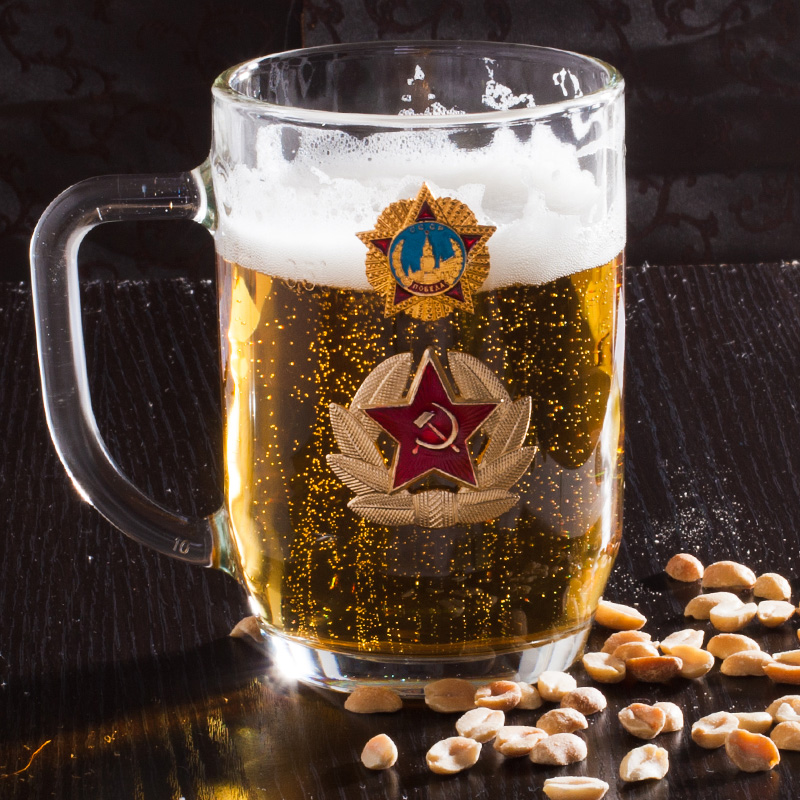 Купить пивной бокал ко Дню Победы по специальной цене
