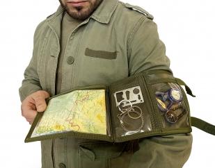 Планшет на руку для карт и документов (олива)