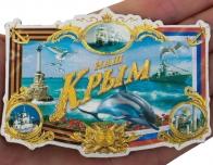 """Пластиковый магнит """"Наш Крым"""""""