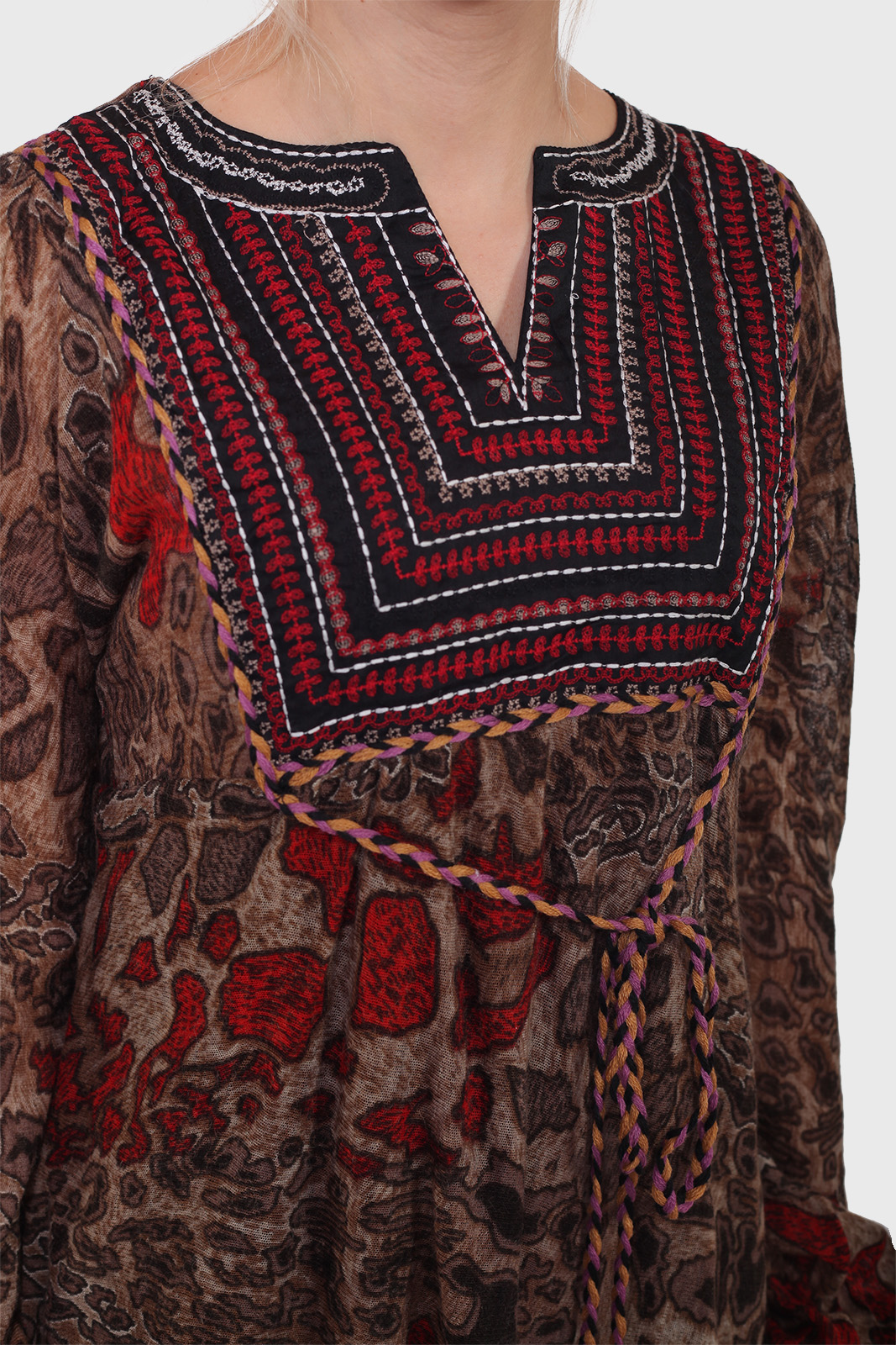 Невероятное женское платье БОХО-ШИК от RANA.