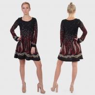 Сексуальное платье-клеш Qed London.