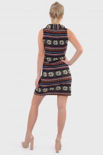 Трикотажное платье Mechant|Nature с открытыми руками.