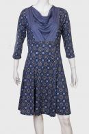 Платье от бренда LOBO с декорированной вставкой.