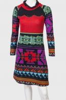 FOLK STYLE! Эксклюзивное миди платье Palme.