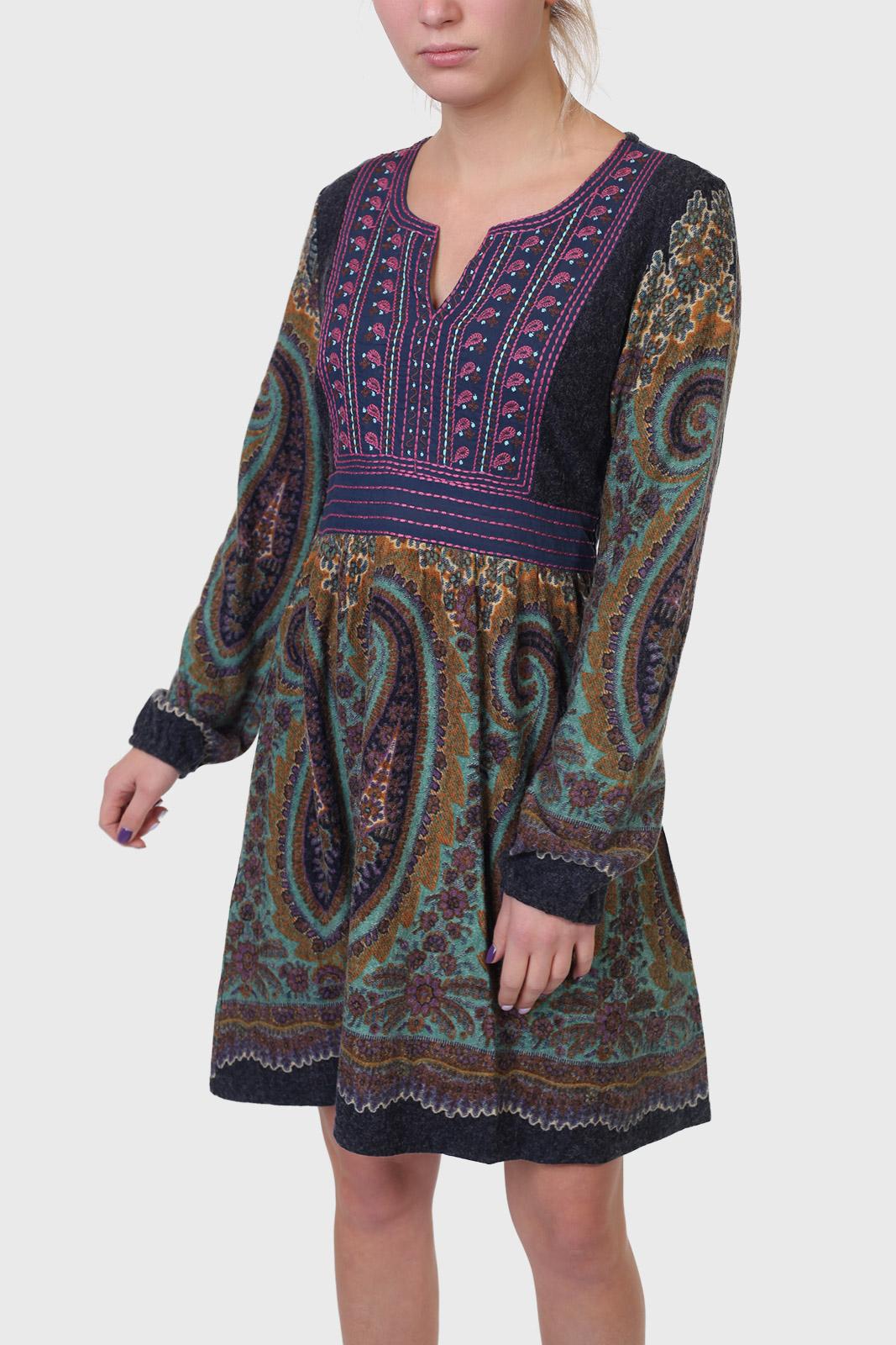 Волшебное женское платье PAPILLON с этническим орнаментом.