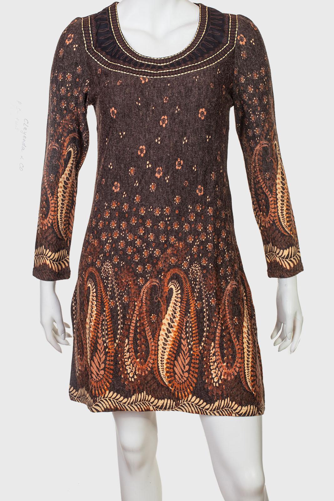 Платье полуприлегающего силуэта Cleyehda & CO.