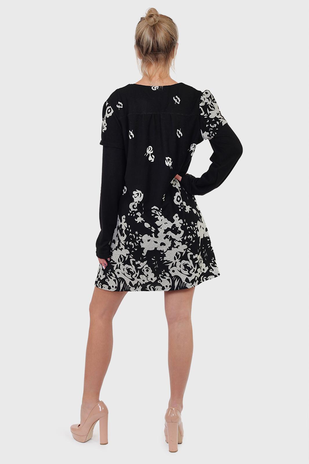 Беспроигрышное трикотажное платье RANA.