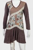 Платье с ассиметричной юбкой.