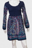 Платье с буфами бренда Le Greniet.