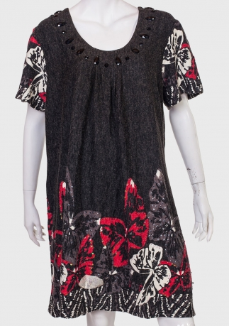 Купить платье с очаровательным принтом от YOURS