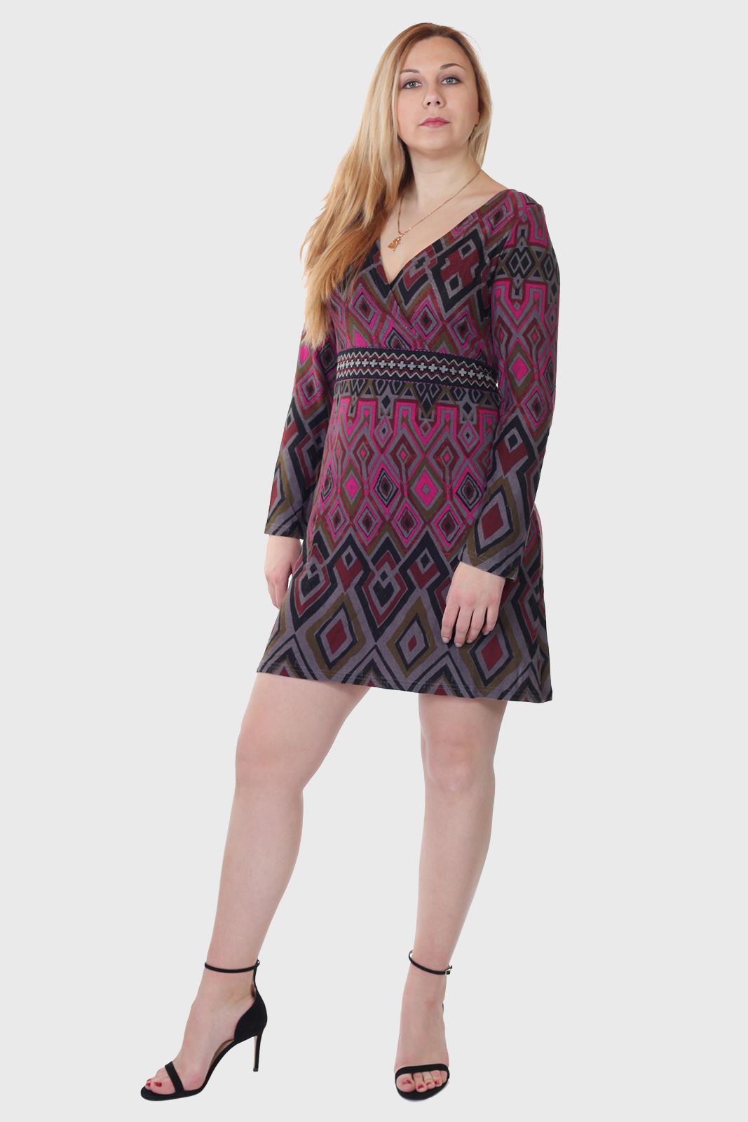 Купить красивое короткое платье Palme из качественного трикотажа
