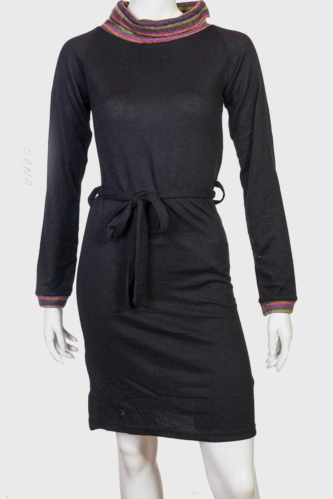 Платье-свитер Rana с пояском.